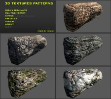 Free 3D textures pack 13 by Yughues