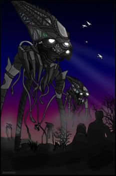 War of the Worlds by UltraViolete