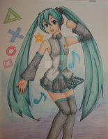 Hatsune Miku by Freddy-Kun-11