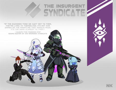 Torbernite's Insurgency: The Syndicate by TheGraffitiSoul