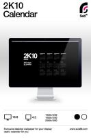 2K10 Desktop Calendar by sub88