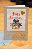 Anniversary Card by VickitoriaEmbroidery