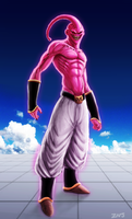 Super Buu by zachjacobs