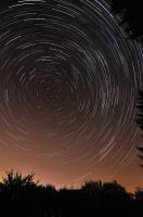 One Hour Startrails by Vejr