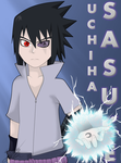 [ANIME ART] Uchiha Sasuke by Seb-LK-585
