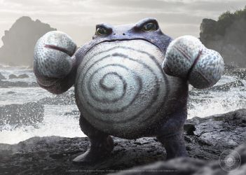 Poliwrath by JoshuaDunlop