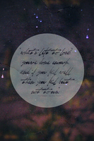 On Your Porch (The Format) Lyric Art by romancer