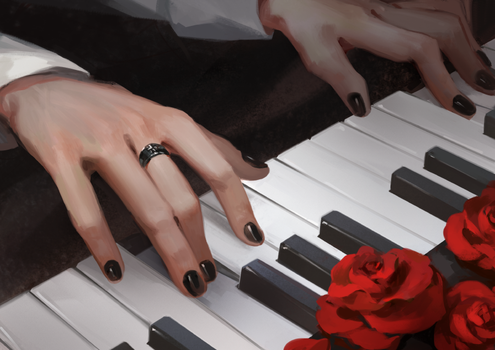 [Commission] Piano by 3four