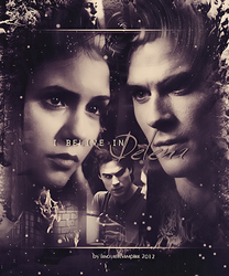 Delena.Collage.02 by favouritevampire