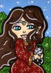 Arwen and Kitty by CassieJ787