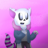 WereCat ttoba Sans (Fluffy Night) by cjc728