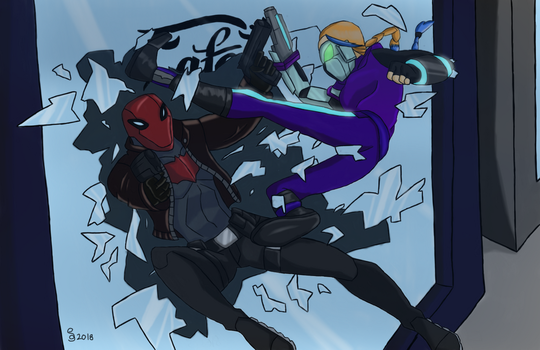 Hourglass vs Red Hood by TimeMusic15