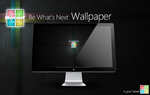 BeWhat'sNext_Wallpaper by hpluslabels
