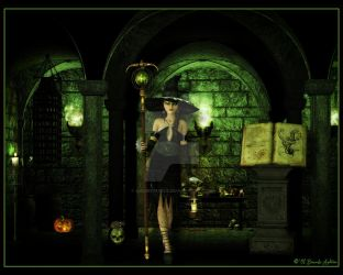The Witch's Chamber by kissmypixels
