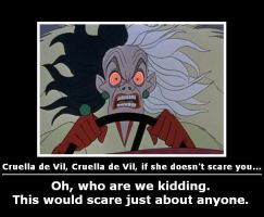 Cruella de Vil, Cruella de Vil by will-o-the-wispy