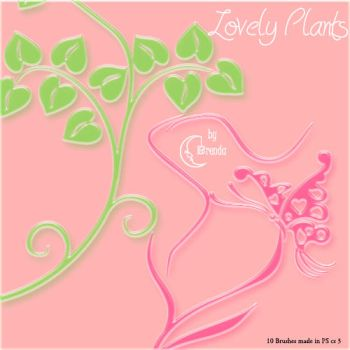Lovely Plants Brushes by Coby17