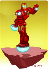 Iron Man (Tony Stark) by gnome-oo