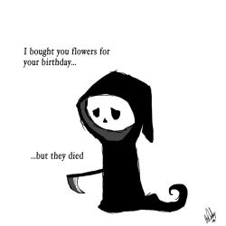 I bought you flowers, but... by Ziggy11