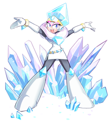 Mega Woman Collab  - Jewel Woman by prnnography