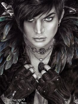 Adam Lambert - Frontiers Cover by topazholly90
