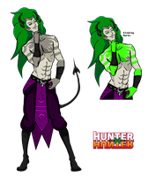 Hunter x Hunter OC: Ever Kuzsman by GrimaceJester