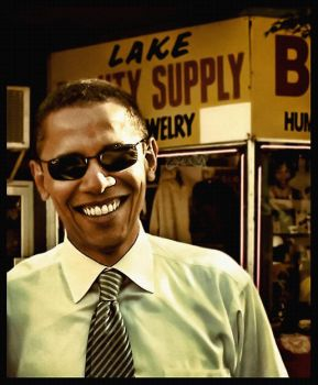 Barack Obama by BitterGrapes