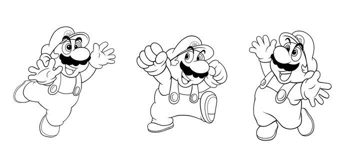 Super Mario Restoration Tripets by ProfessorMegaman