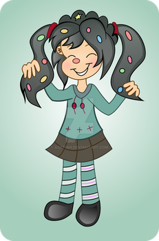 Vanny with Pigtails by Agetian