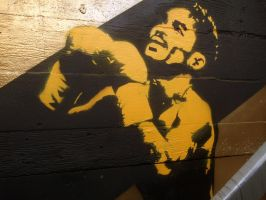 Pacquiao Stencil by cyphaflip