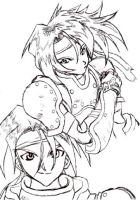 Cress from Tales of Phantasia by Ray-Of-Hope