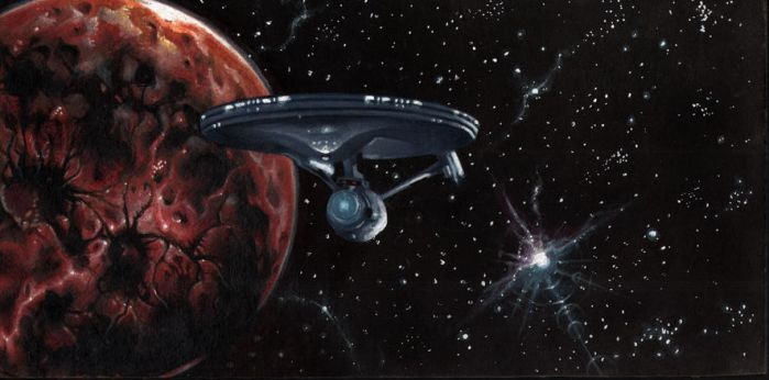the Enterprise by vincent-fourneuf