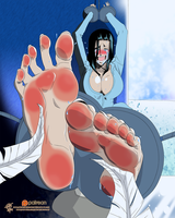 Nico Robin - Tickled imprisonment.