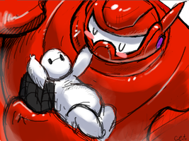 Baymax Baybe by Mechasupial