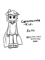 Commando Kid: Reiko Tablet Sketch by VioletLinked