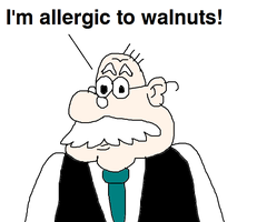 Mr. Grouse is Allergic to Walnuts by MikeJEddyNSGamer89