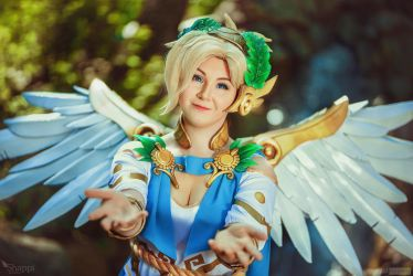 Victorious Mercy - Overwatch by Shappi