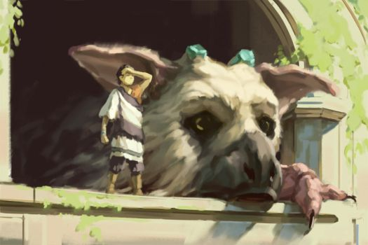 The Last Guardian by eeliskyttanen