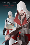 Altair and Ezio Vector by HedgeCatDragonix