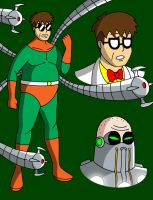Doc Ock the Master Planner by streetgals9000