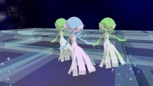 MMD newcomer Gardevoir by yaoiboy777