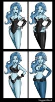 Bruce Timm tribute- Frost by MegganBlack
