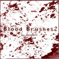 Blood Brushes 02 By KeRen-R by Project-GimpBC