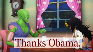 MMD - thanks Obama by CogetaCats