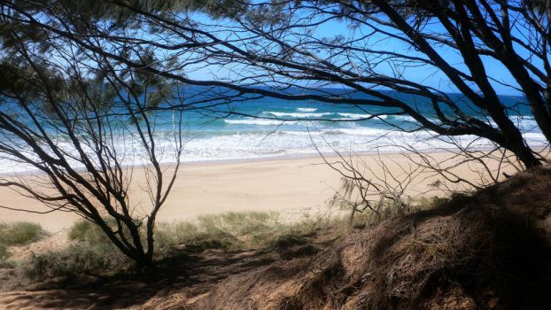 Secluded Beach, australia by Pharr0xx