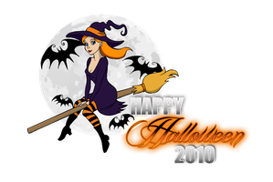 Happy Halloween 2010 by marron