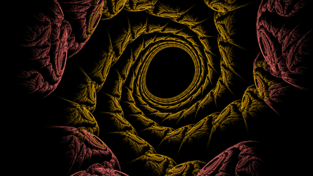 Tunnel into the void by azieser