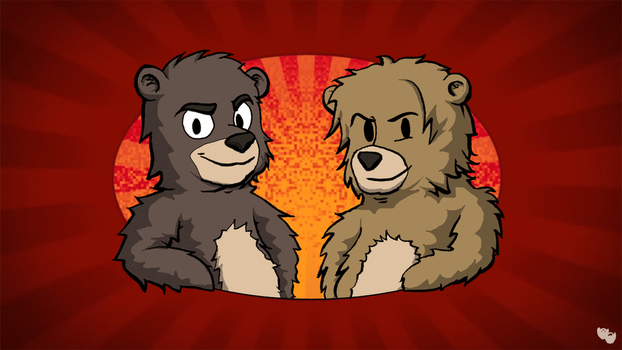Super Bear Bros. by DeathbyChiasmus