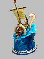 Viking Cake : Back View by The-EvIl-Plankton
