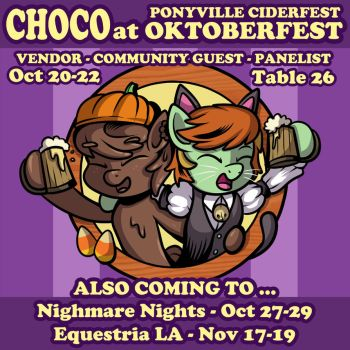 Community Guest at Ponyville Ciderfest 2017 by SouthParkTaoist