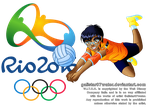 Taranee at the 2016 Rio de Jeinaro Olympics by Galistar07water